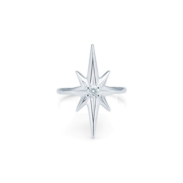 Guiding star Statement ring