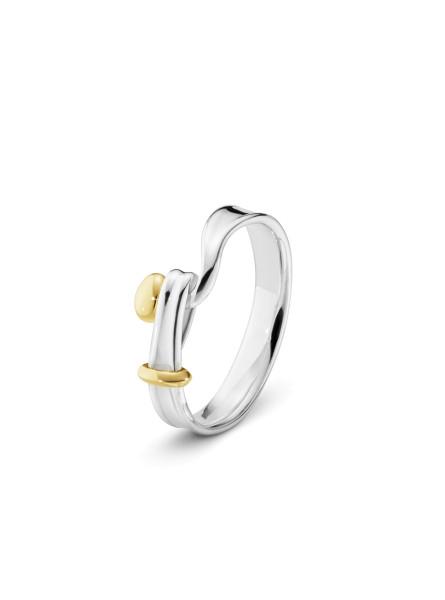 TORUN ring - sterlingsølv og 18 kt. guld