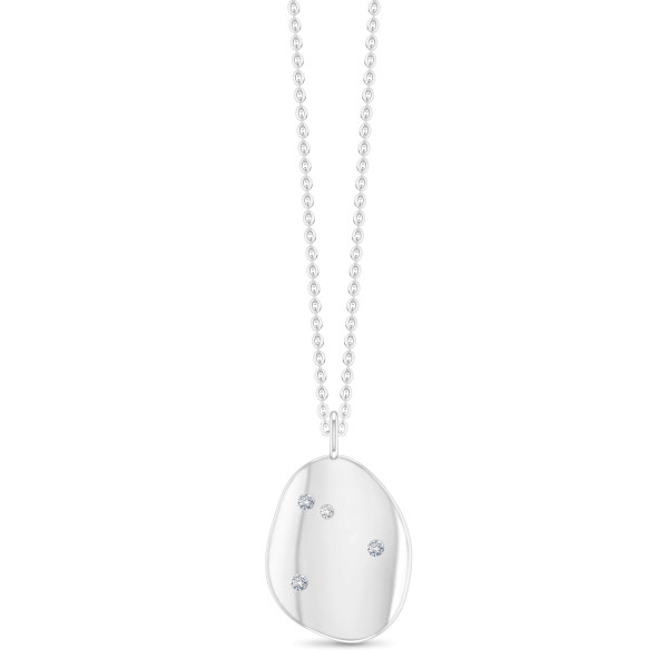 Liquid necklace-white