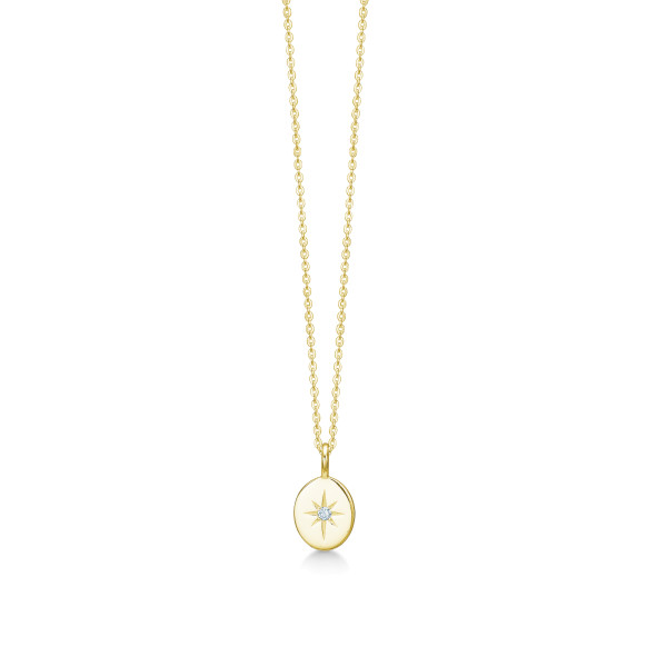 Guiding Star Necklace - Gold