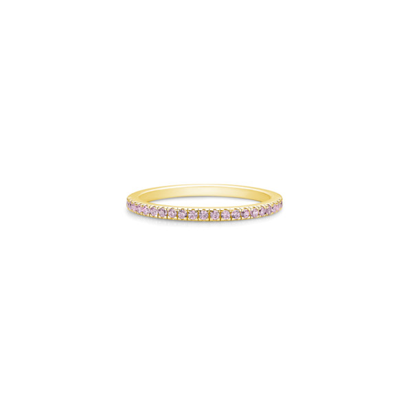 Simplicity Ring - Gold/Pink