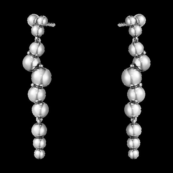 Grape ørehængere sølv