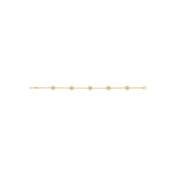 Daisy armbånd hvid 7mm