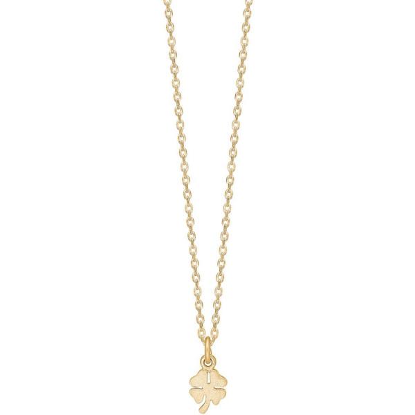 Necklace, clover