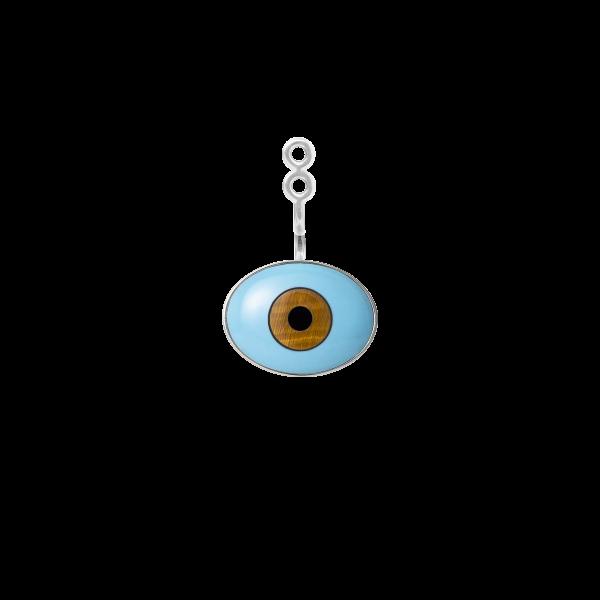 Lotus vedhæng evil eye