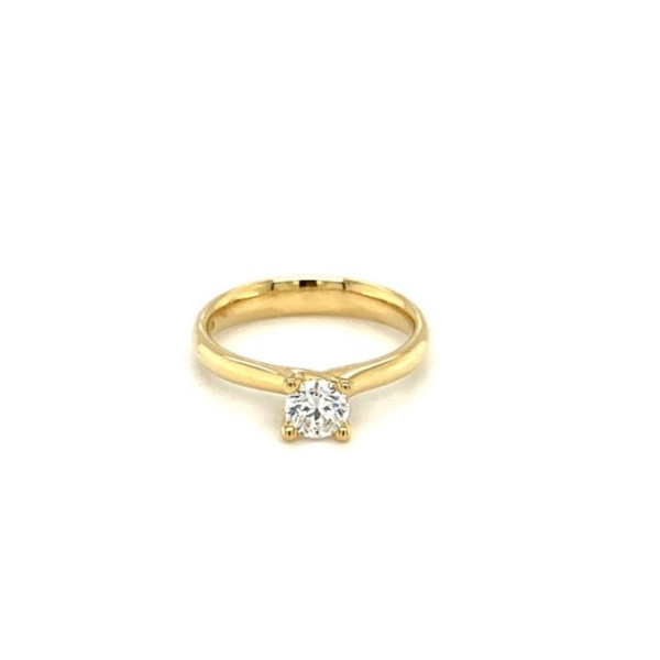 Solitairering 0,50ct RIVER/VS2