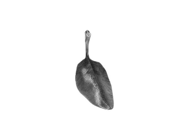 Leaves vedhæng oxyderet 3cm