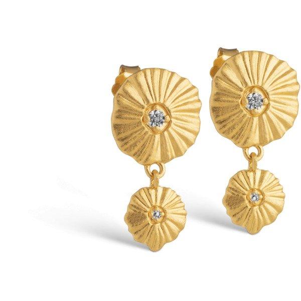 Earring, Sparkling shell