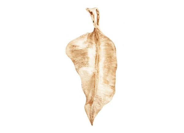 Leaves vedhæng stort rundt 5,7cm