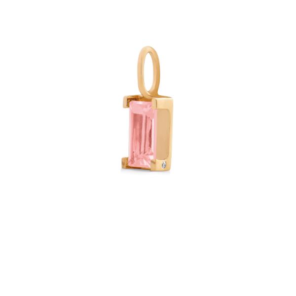Nord pink turmalin vedhæng