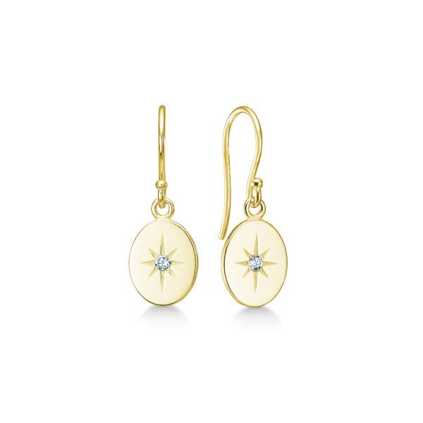 Guiding Star Earrings - Gold
