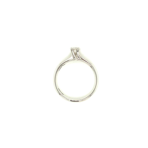 Solitaire ring 0,11ct TW/SI