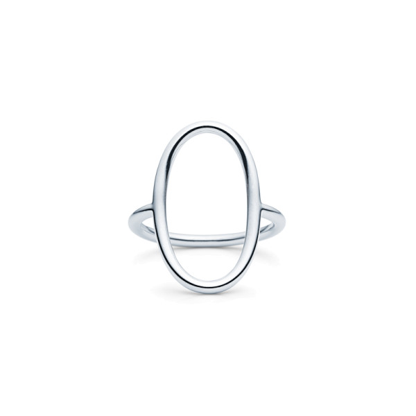 Sphere Ring - Rhodium