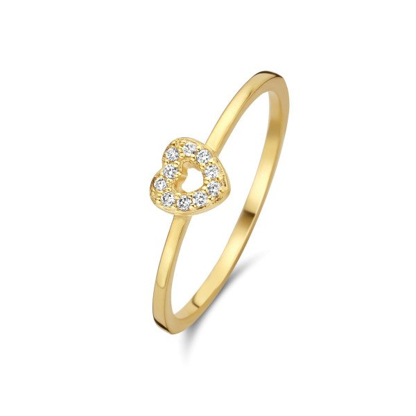 Devotion ring 0,06ct W/VS