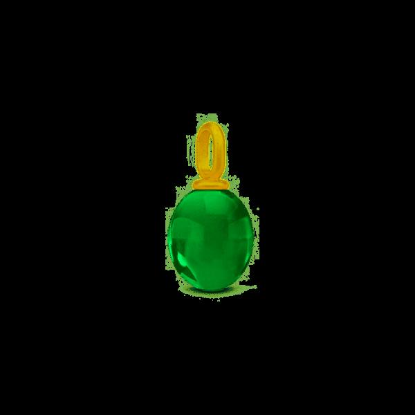 Ella grøn krystal
